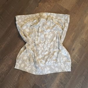 3/$15 Old navy strapless tube top